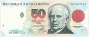 50 Pesos (Convertibles de Curso Legal 1st issue) – obverse