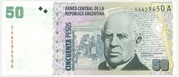 50 Pesos (Convertibles de Curso Legal 2nd issue) -  obverse