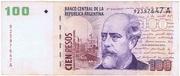 100 Pesos (Convertibles de Curso Legal 2nd issue) – obverse