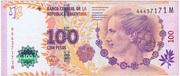 100 Pesos (60th Anniversary of Eva Perón's Death) – obverse