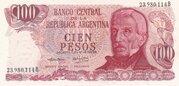 100 Pesos Ley – obverse