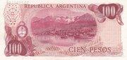 100 Pesos Ley – reverse