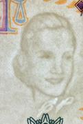 100 Pesos (60th Anniversary of Eva Perón's Death) -  obverse
