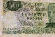 500 Pesos -  obverse