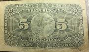 5 Centavos – reverse