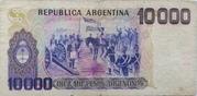 10,000 Pesos Argentinos – reverse