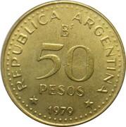50 Pesos (Patagonia Conquest) – obverse