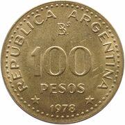 100 Pesos (José de San Martín) -  obverse