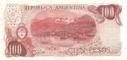 100 Pesos Ley -  reverse