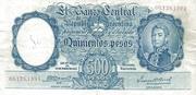 500 Pesos – obverse