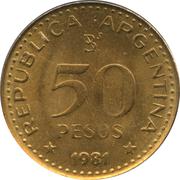 50 Pesos (magnetic) -  obverse