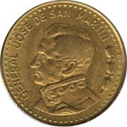 50 Pesos (magnetic) -  reverse