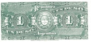 1 Peso – reverse