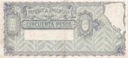 50 Pesos – reverse