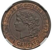 1 Centavo Fuertes – reverse