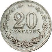 20 Centavos – reverse