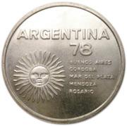 1000 Pesos (World Football Championship) -  obverse
