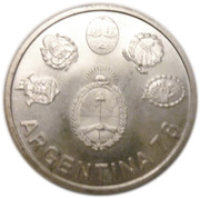 2000 Pesos (World Football Championship) -  obverse