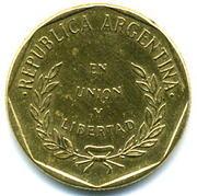 1 Centavo (round type) -  obverse