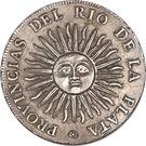 4 Reales (Provincias del Rio de la Plata) – reverse