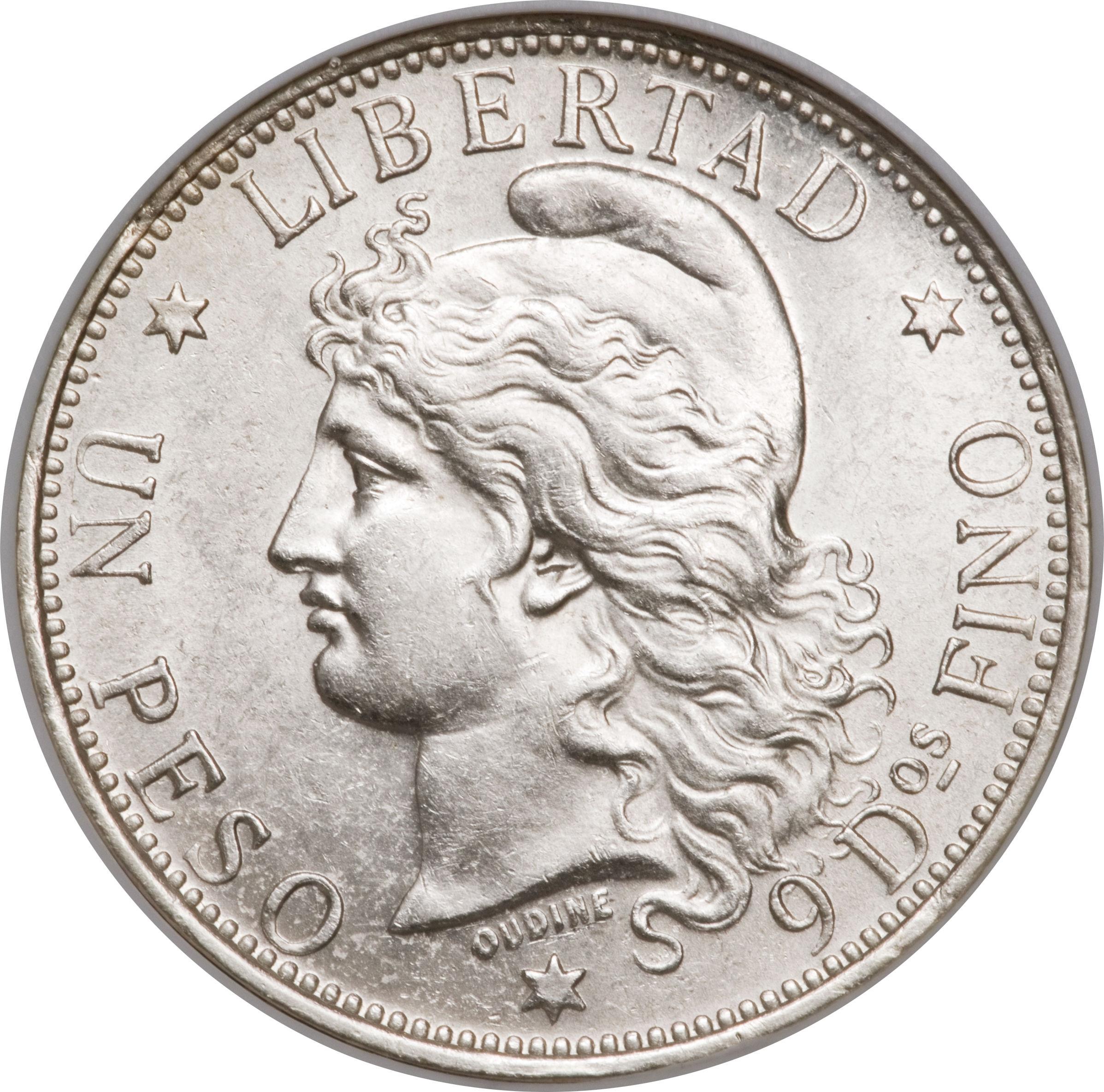 1 Peso Argentine Numista