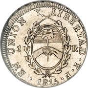 1 Real (Provincias del Rio de la Plata) – obverse