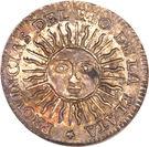 ½ Sol (Provincias del Rio de la Plata) – obverse