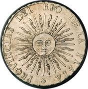 8 Soles (Provincias del Rio de la Plata) – obverse