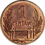 1 Centavo (Pattern Piece) – reverse