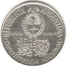 2 Pesos (National Constitution Convention - Silver Issue) – obverse