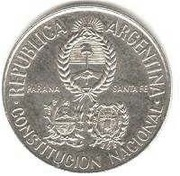 2 Pesos (National Constitution Convention - Silver Issue) -  obverse