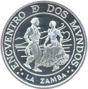 25 Pesos (Ibero-American Series - The Zamba) -  obverse