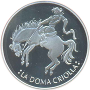 25 Pesos (Ibero-American Series - The Doma Criolla) – obverse