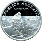 1 Peso (Mar del Plata - Silver Proof Issue) -  obverse
