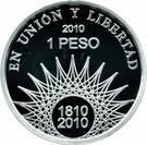 1 Peso (Mar del Plata - Silver Proof Issue) – reverse