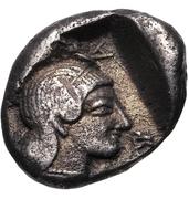 Hemidrachm (Kleitor) – reverse