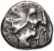 Hemidrachm (Tegea) – obverse