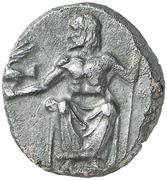 Hemidrachm (Kleitor) – obverse