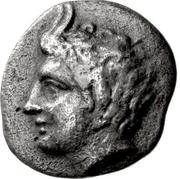 Obol (Megalopolis) – obverse