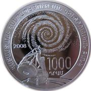 1000 Dram (Viktor Ambartsumian) – obverse