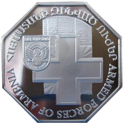 5000 Dram (Armenian Armed Forces) -  reverse