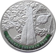 100 Dram (General Sherman Tree) -  reverse