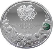 100 Dram (Hundred Horse Chestnut) – obverse