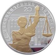 1000 Dram (Constitutional Court) -  reverse