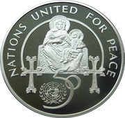 100 Dram (United Nations) – reverse