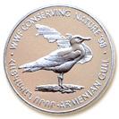 100 Dram (Armenian Silver Seagull) -  reverse