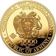 50 000 Dram (Noah's Ark) -  obverse