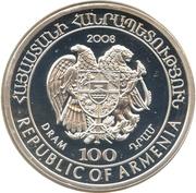 100 Dram (Armenian Mouflon) -  obverse