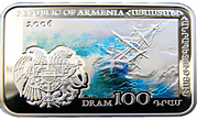 100 Dram (Hovhannes Aivazovsky) -  obverse