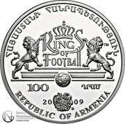 100 Dram (Pelé) -  obverse